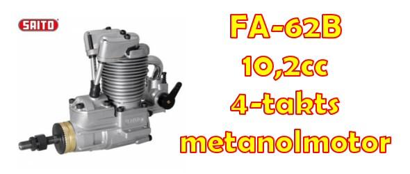 FA-62B 10,2cc 4-takts Metanolmotor